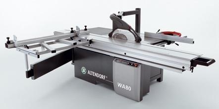 Formátovací pila Altendorf WA 80